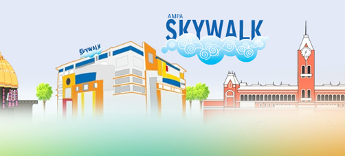 AMPA Skywalk, Aminjikarai, Chennai