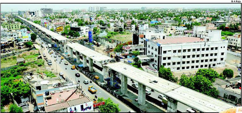 CHENNAI METRO RAIL: Koyambedu - St Thomas Mount Stretch