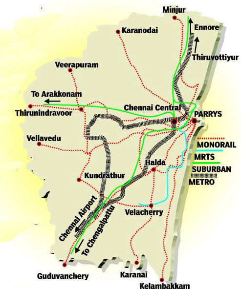 chennai city map with bus routes Chennai City Chennaiepages chennai city map with bus routes
