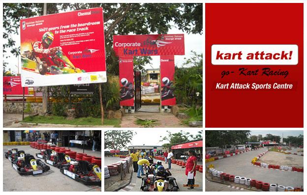 Kart Attack - go-Kart Racing, ECR, Chennai