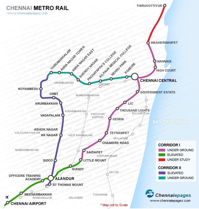 Chennai Local Train Route Map Train Route Chennai, Chennai suburban railway, Suburban electric